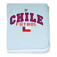 CL Chile Futbol Soccer baby blanket