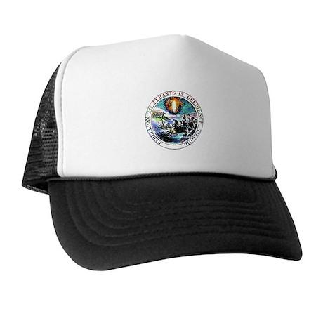 Rebellion to Tyrants Trucker Hat