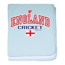 ENG England Cricket baby blanket