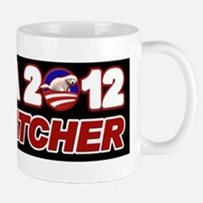 Obama for Dog Catcher 2012 Mug