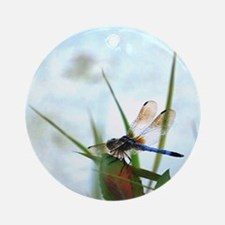 Dragonfly Photography Ornament (Round)