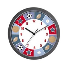 All Stars Sports Wall Clock