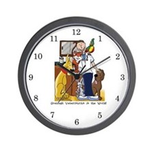 Greatest Veterinarian Wall Clock