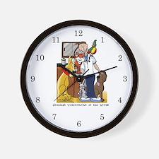Greatest Veterinarian Wall Clock