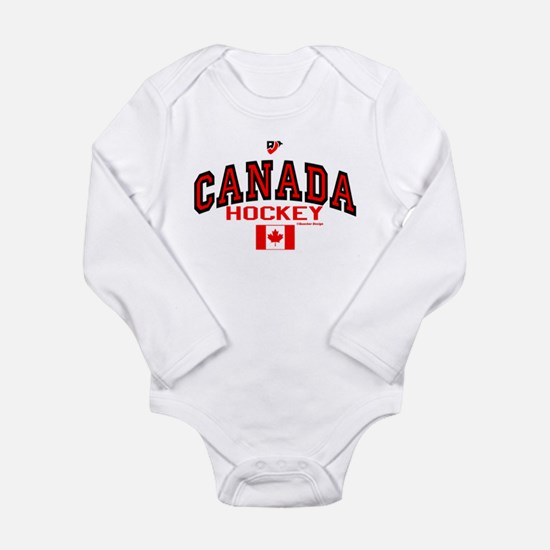CA(CAN) Canada Hockey Baby Outfits