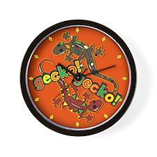 Gecko Gecko Wall Clock