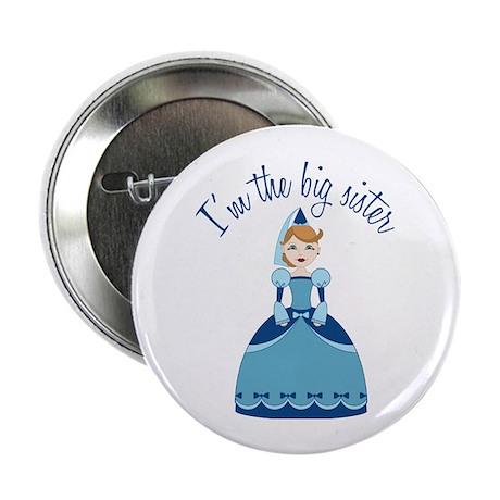 "Big Sister Princess 2.25"" Button (100 pack)"