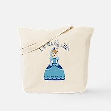 Big Sister Princess Tote Bag