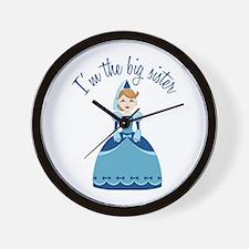 Big Sister Princess Wall Clock