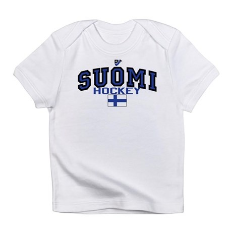 Finland(Suomi) Hockey Infant T-Shirt