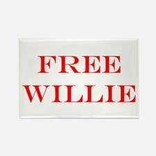 Cute Willie nelson Rectangle Magnet