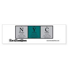 NYC Color Bumper Sticker