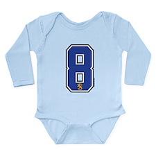 FI Finland Suomi Hockey 8 Long Sleeve Infant Bodys
