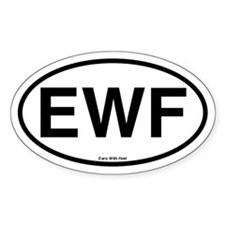 EWF Bumper Oval Decal