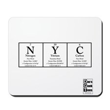 NYC Transparent Mousepad