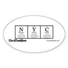 NYC Transparent Decal