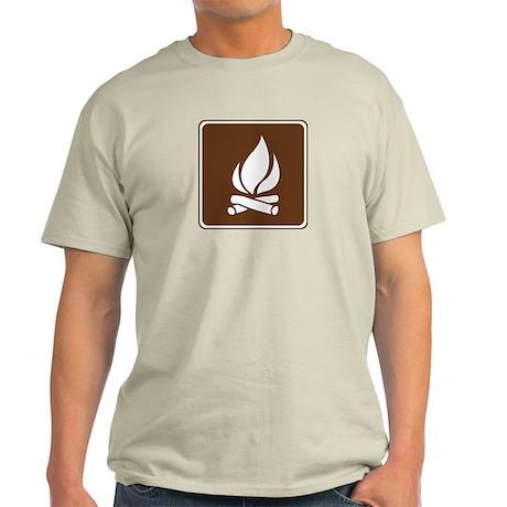 Campfire Sign Light T-Shirt