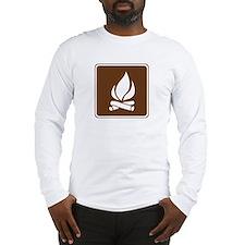 Campfire Sign Long Sleeve T-Shirt