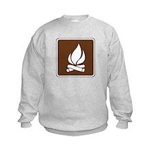 Campfire Sign Sweatshirt