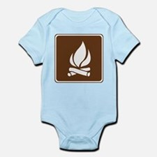 Campfire Sign Infant Bodysuit