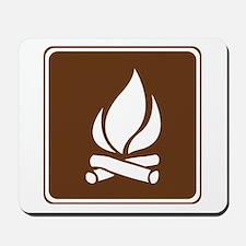 Campfire Sign Mousepad