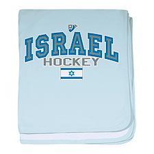 IL Israel Ice Hockey baby blanket