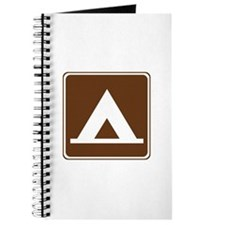 Camping Tent Sign Journal