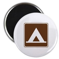 Camping Tent Sign Magnet