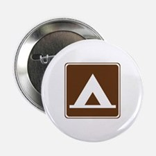 "Camping Tent Sign 2.25"" Button"