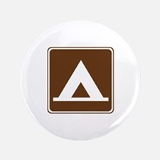 "Camping Tent Sign 3.5"" Button"
