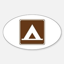 Camping Tent Sign Decal