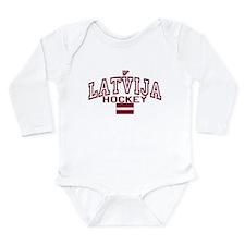 LV Latvija/Latvia Ice Hockey Onesie Romper Suit