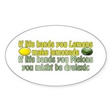 Melons of Dyslexia Decal