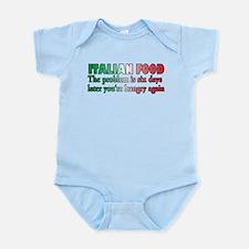 Italian Food Infant Bodysuit