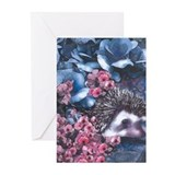 Hedgehogs Greeting Cards (10 Pack)
