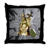 Weed pillows Throw Pillows