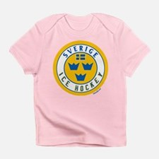 SE Sweden/Sverige Hockey Infant T-Shirt