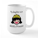 Autistic Princess Large Mug