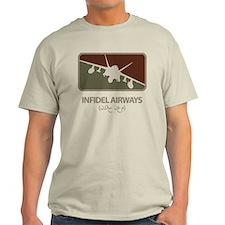 Infidel Airways (F/A-18 Hornet) T-Shirt