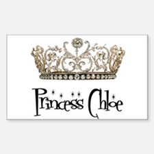 Princess Chloe Sticker (Rectangle)