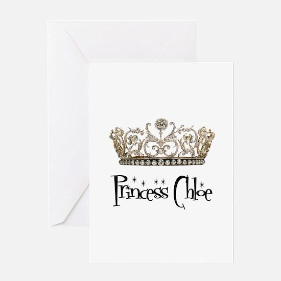 Princess Chloe Greeting Card