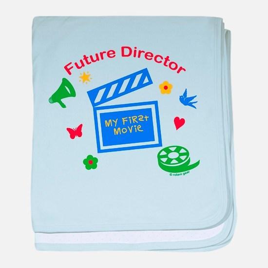 Future Director baby blanket