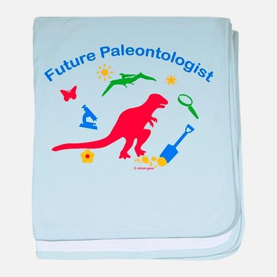 Future Paleontologist baby blanket