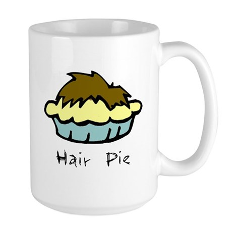 Hair Pie Large Mug