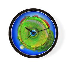 EARTHLY Wall Clock