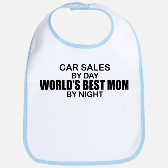 World's Best Mom - Car Sales Bib
