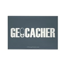 Geocacher Rectangle Magnet