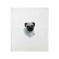 Pug 9Y383D-294 Throw Blanket