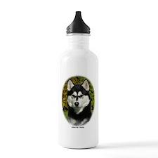 Siberian Husky 9P046D-46 (2) Sports Water Bottle