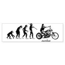 BOBBER EVOLUTION Bumper Sticker